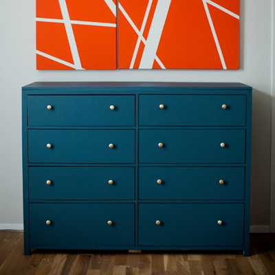 Simple Modern 8-Drawer Dresser | DIY Furniture