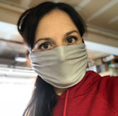 Breath Healthy Face Mask for woodworking Silver