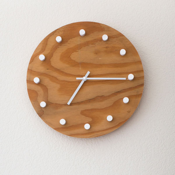 Scrap Wood Challenge – Simple Modern DIY Clock