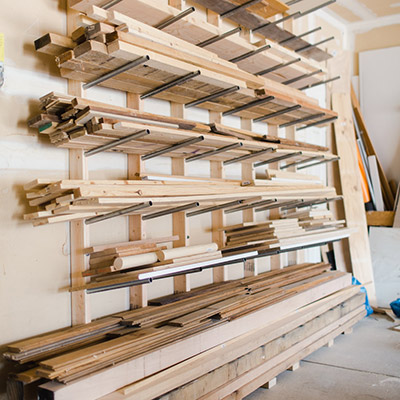 Make A Simple Lumber Rack from 2x4s and Conduit : Easy, Affordable, and Heavy Duty