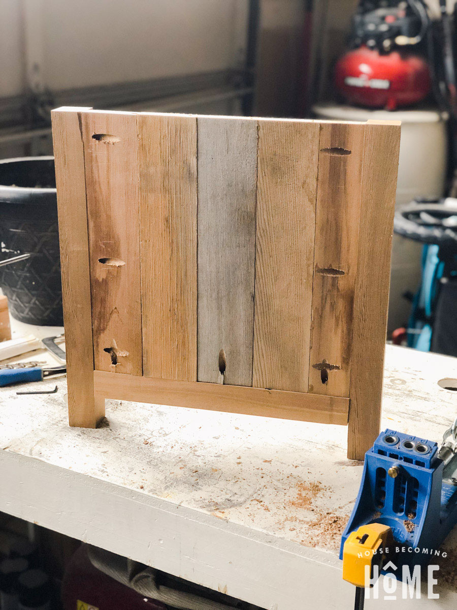 Making a DIY Cedar Chippendale Planter with Pocket Holes