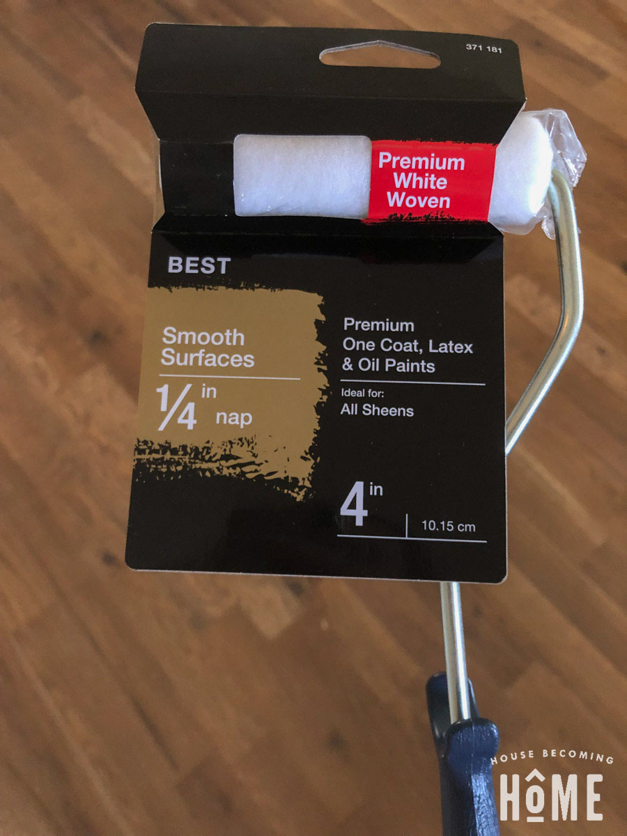 Best Roller to Use to Paint Bathtub with Rustoleum Tub and Tile