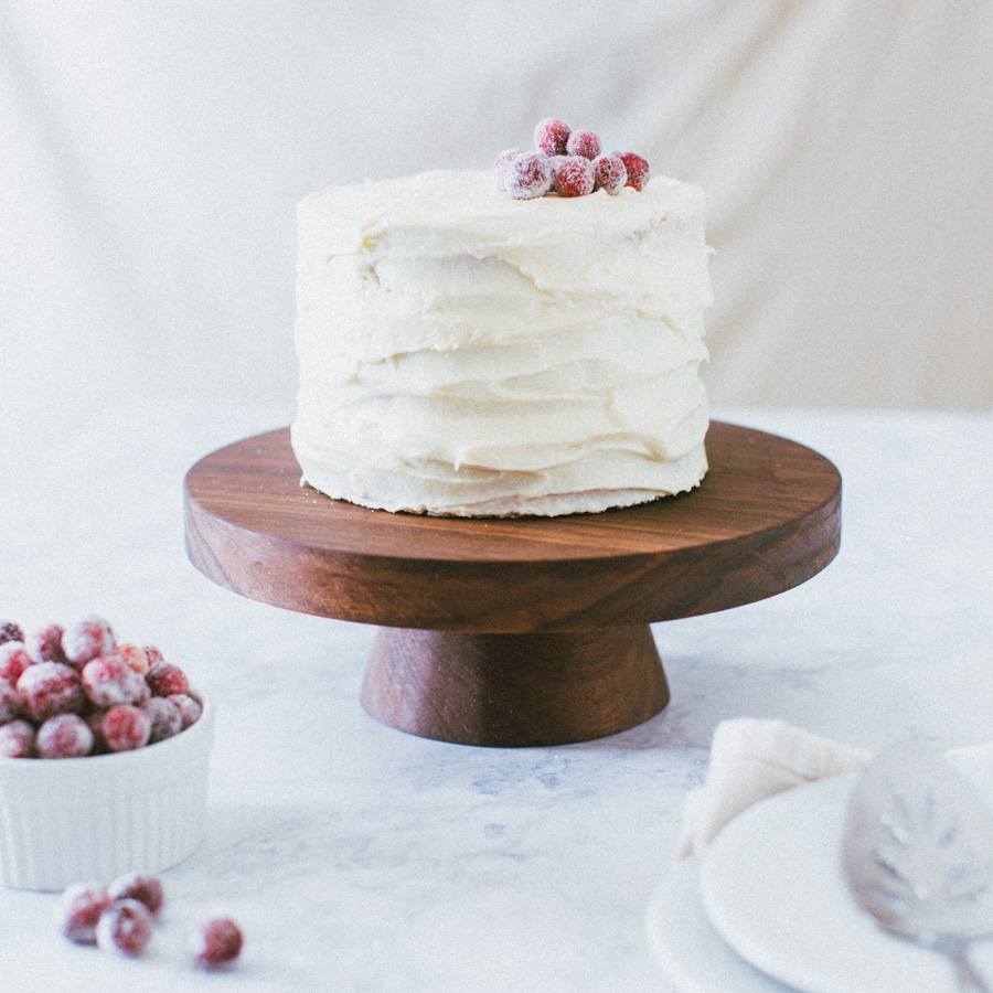 How to Make a Wood Cake Stand