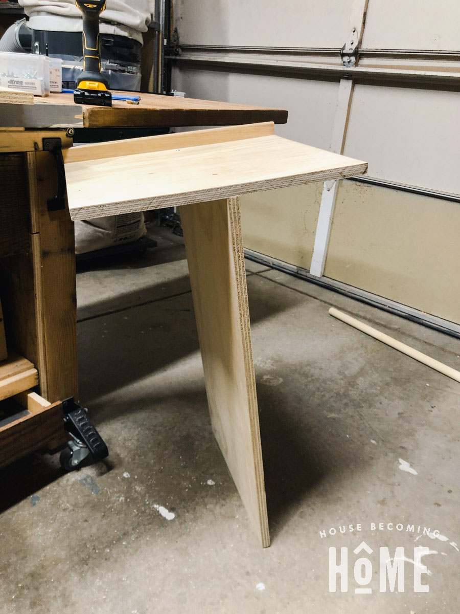 Building Shelving and Dividers for More Efficient Coat Closet