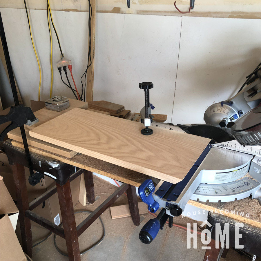 Bevel Cut for Nightstand Top