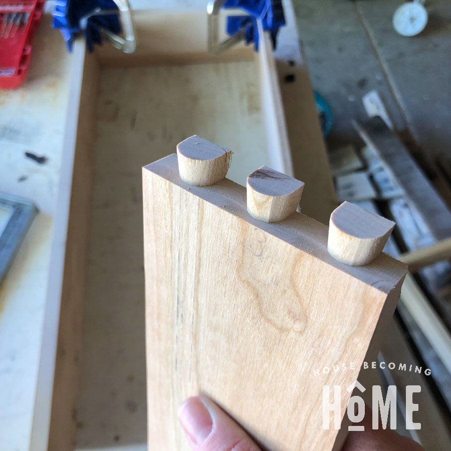 Dovetail Joinery Using Porter Cable Jig 2