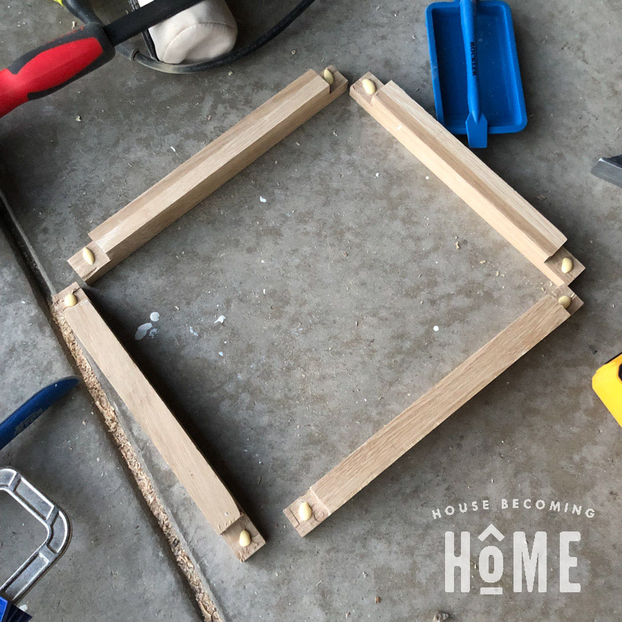 Half Lap Joint Nightstand Sides