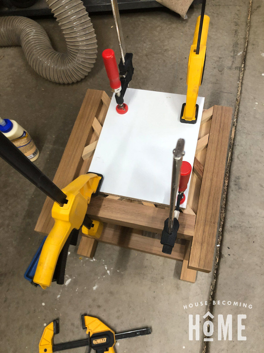 Clamping Chippendale Planter