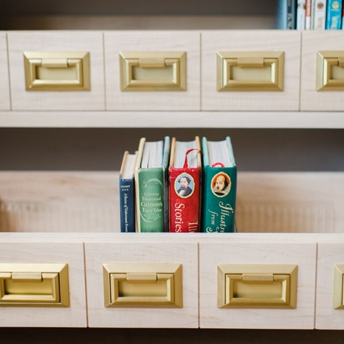 Make a Catalog Bookcase
