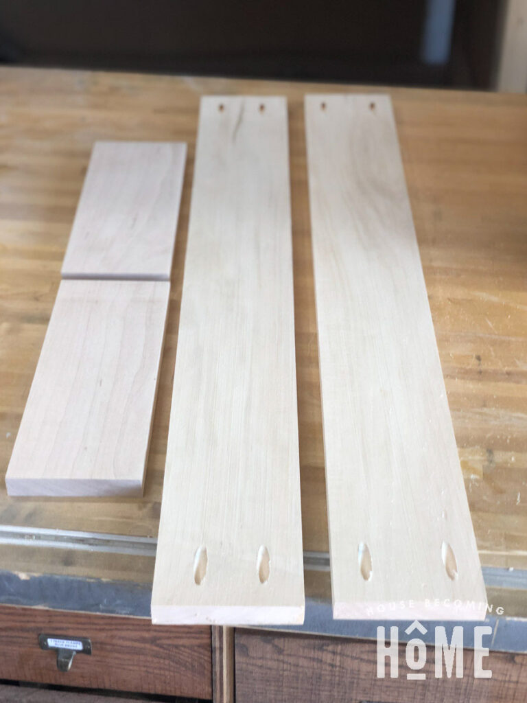 Maple Lumber for Bookcase Drawer