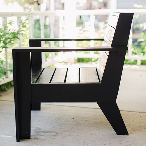 Build a Modern Adirondack Chair Plans