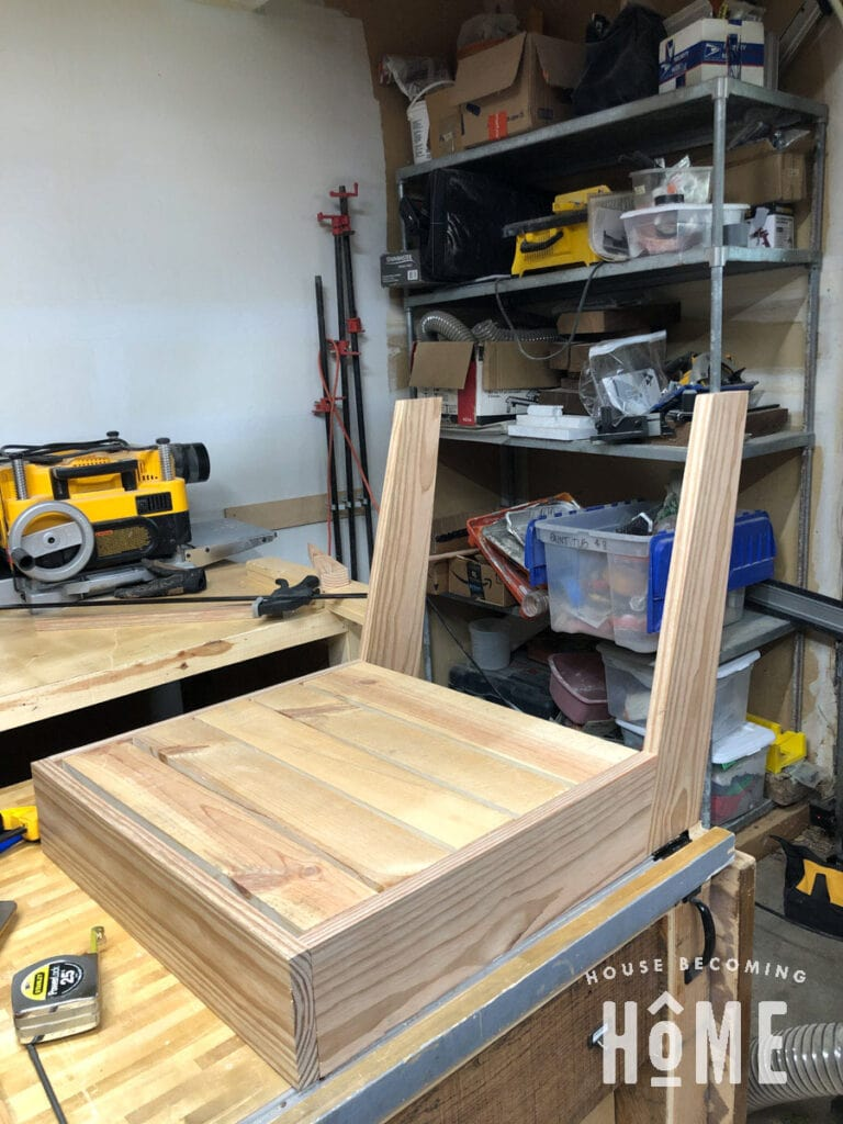 Building Outdoor Chair Seat