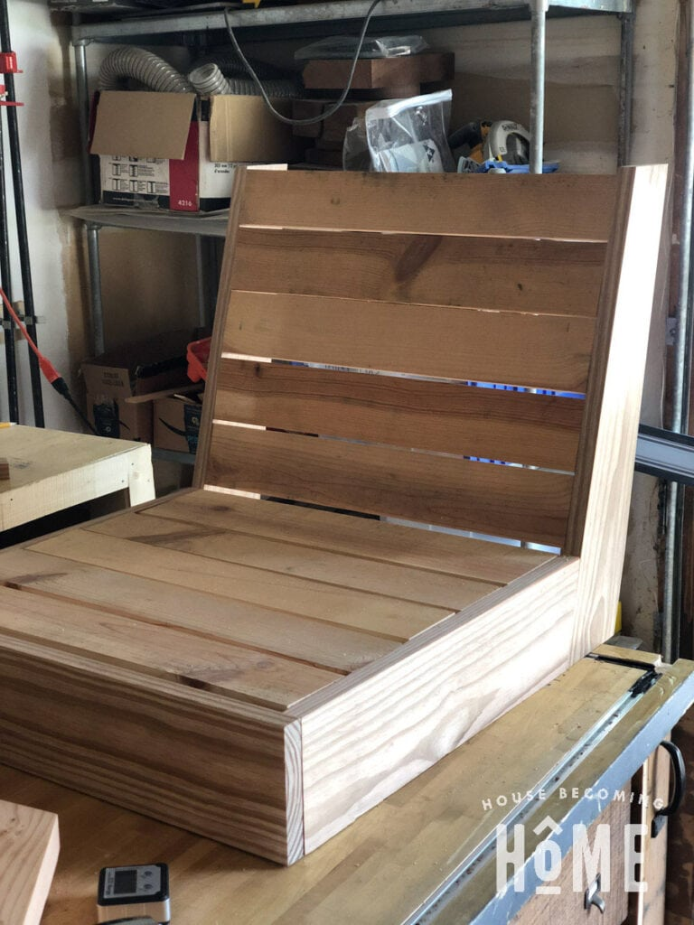 Building Patio Chair