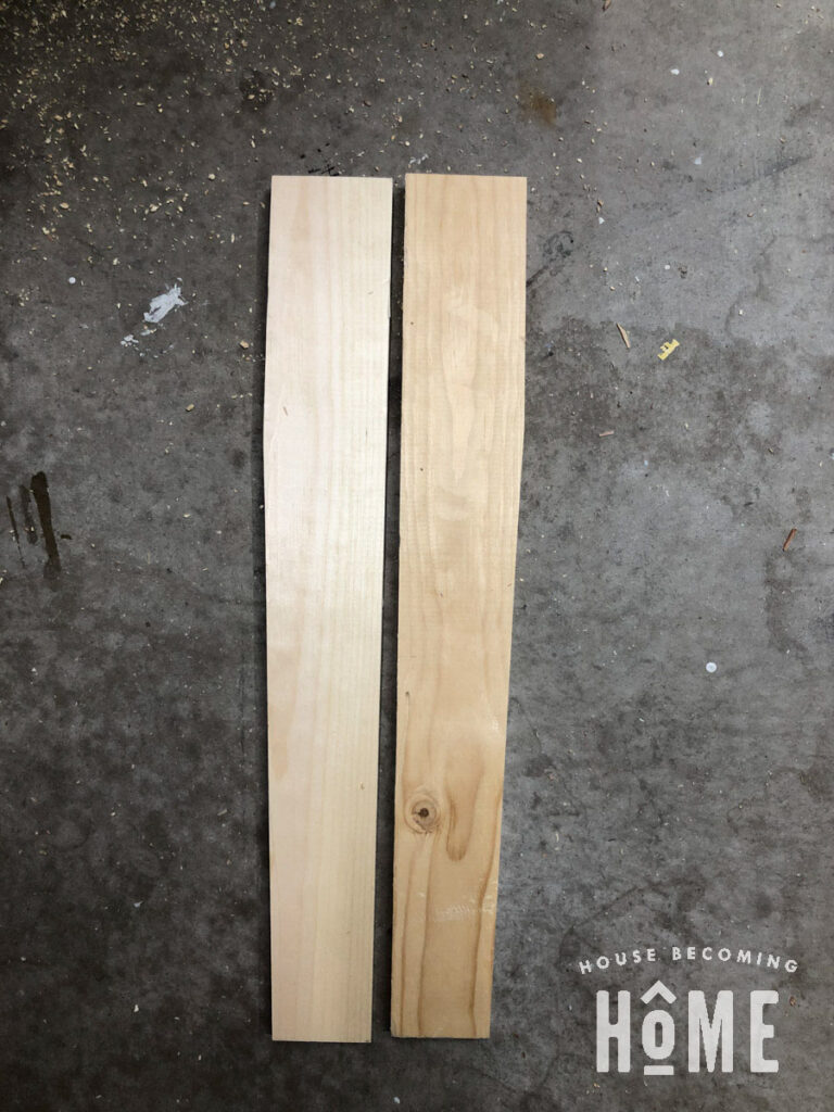 Tapered Legs for Modern Adirondack Chair