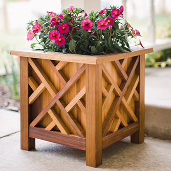 Download Woodworking Plans Planter