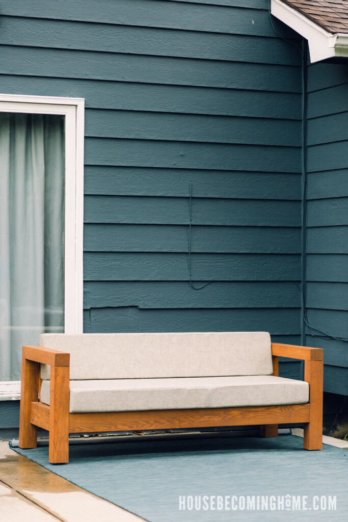 Build Plans Outdoor Couch