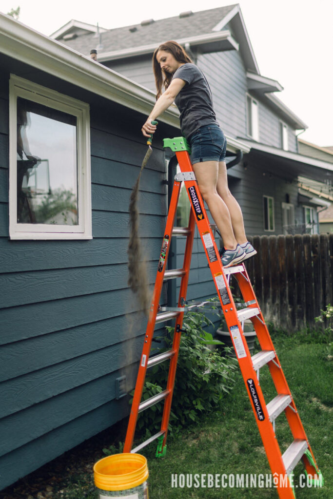 Louisville Ladder Able to Get Closer to Work Area