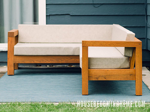 Plans How to Build Modern L Couch